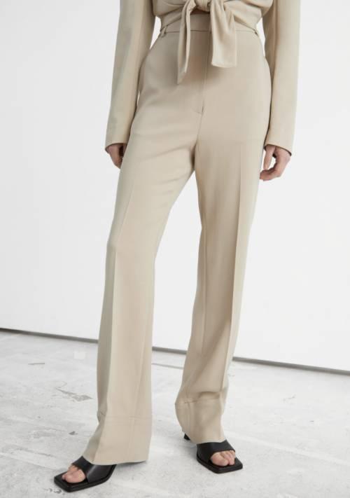 & Other Stories - Pantalon de costume taille haute