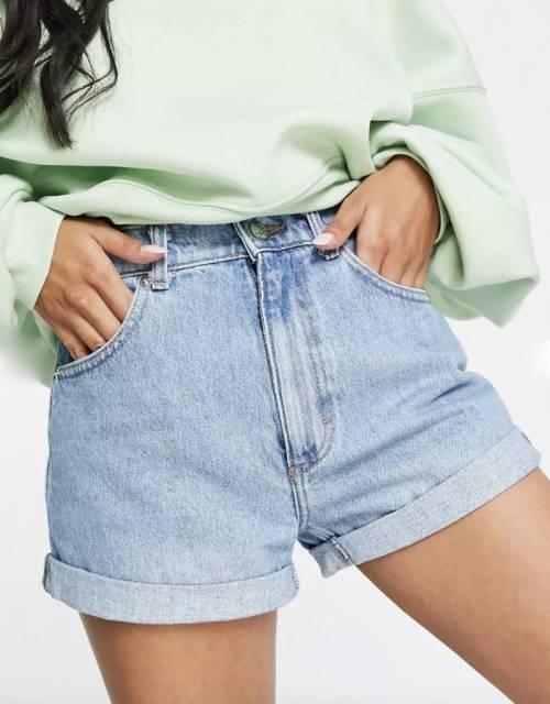 ASOS DESIGN Petit - Short en jean