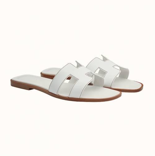 Hermès - Sandales en cuir