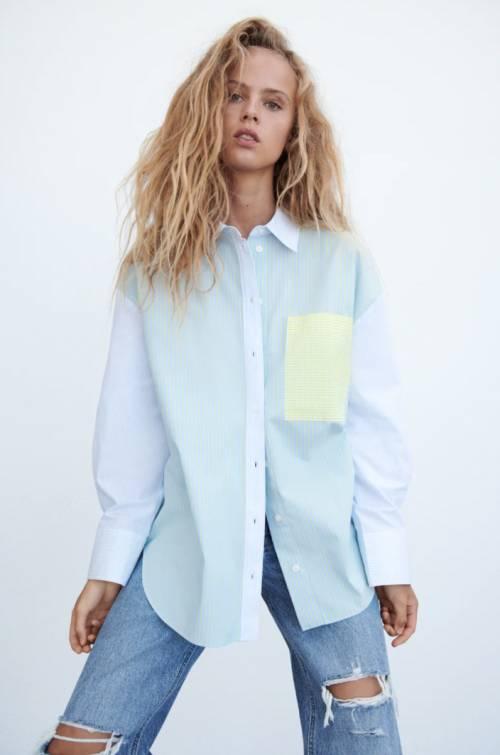 Zara - Chemise à rayures