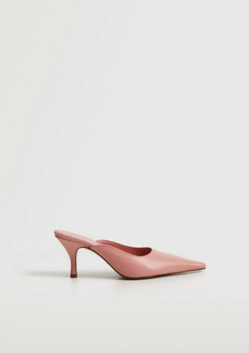 Mango - Chaussures à talons en cuir