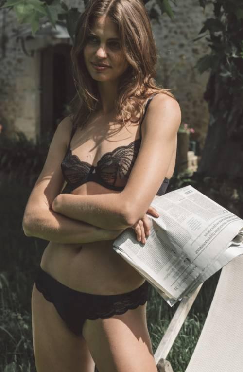 Ysé Paris - Culotte en tulle brodé