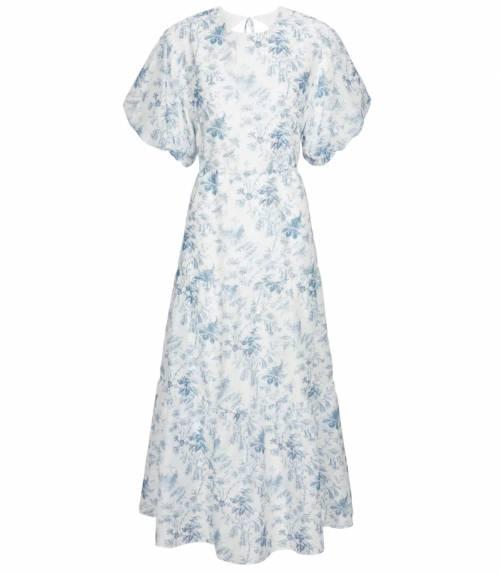 Sir sur Mytheresa.com - Robe fleurie en soie et coton
