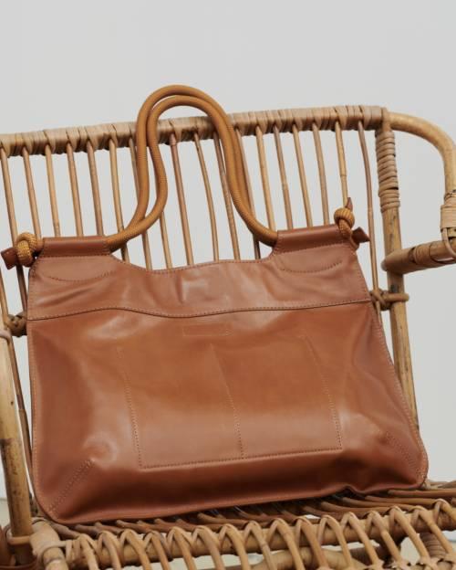 Comptoir des Cotonniers - Grand sac cabas en cuir
