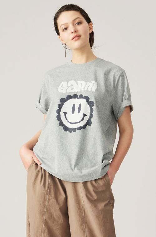 Ganni - T-shirt oversize