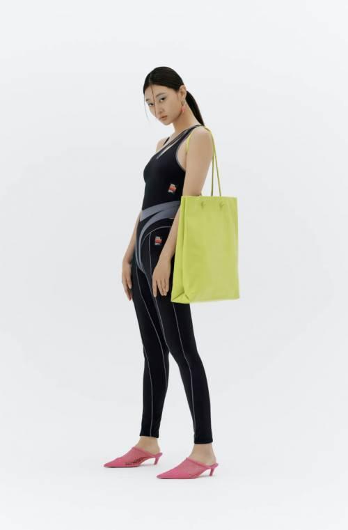 Zara - Sac shopper XXL en cuir