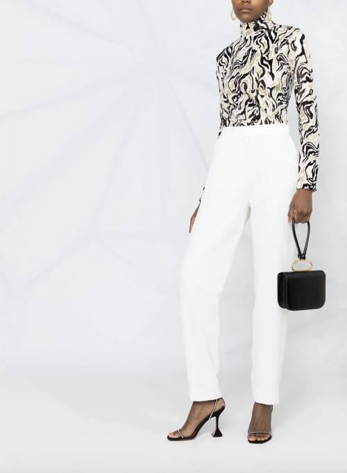 Balmain - Pantalon de costume taille haute