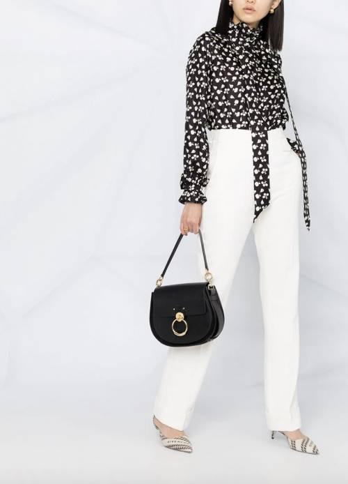 Victoria Beckham - Pantalon fuselé à taille haute