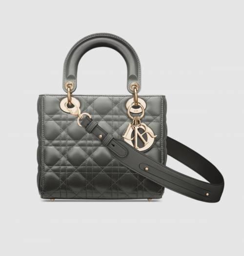 Dior - Sac Lady Dior à bandoulière ajustable en cuir