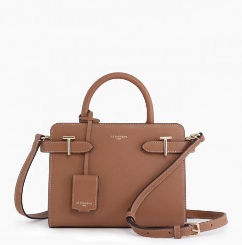 Le Tanneur - Petit sac à main à bandoulière en cuir