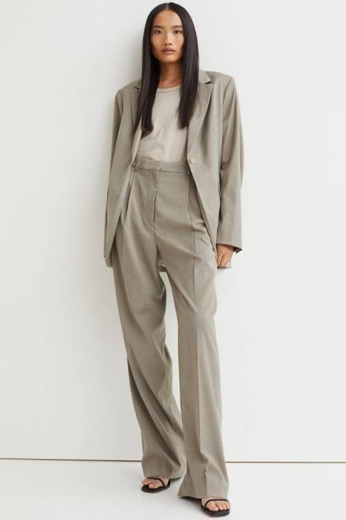H&M - Pantalon à plis