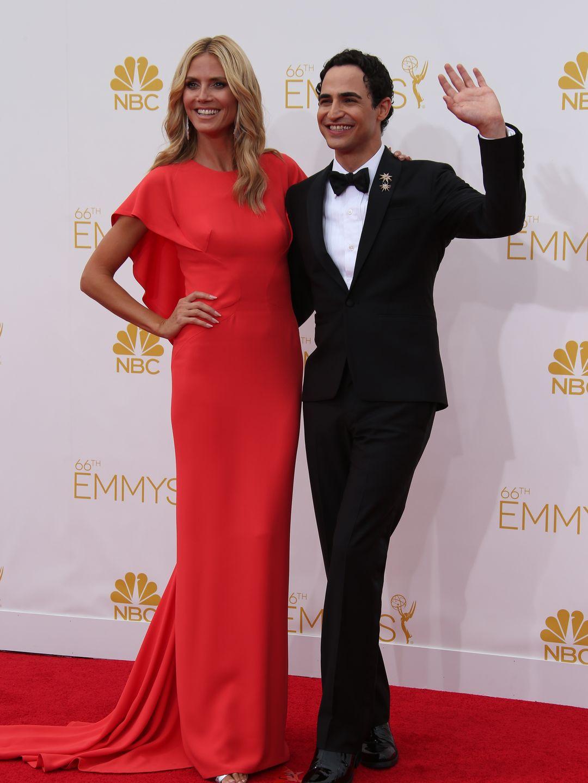 Heidi Klum en Zac Posen