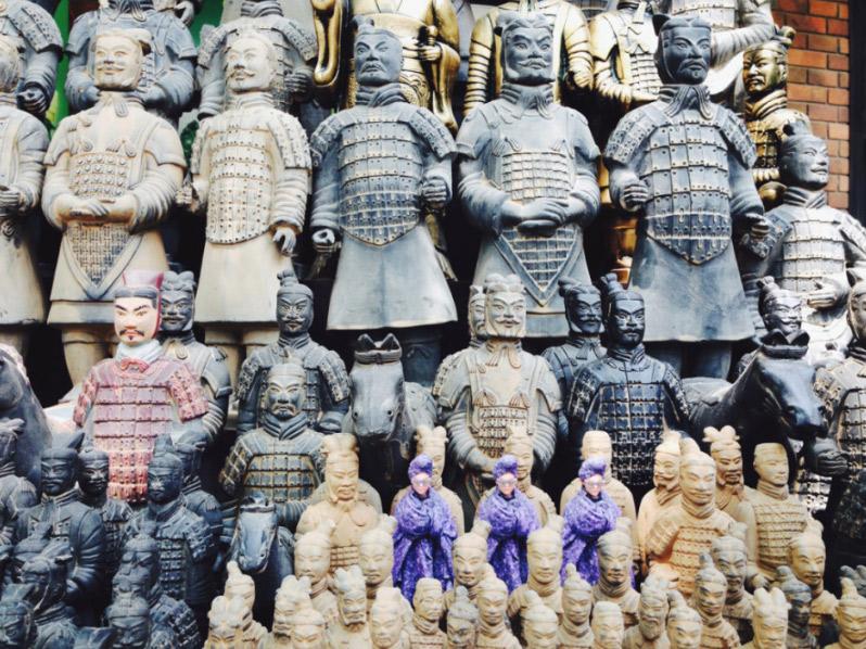 Terracotta Army, Xi'an, Chine