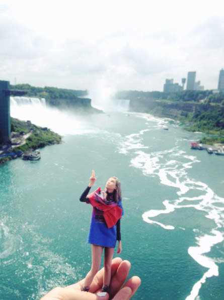 Les chutes du Niagara, Ontario, Canada