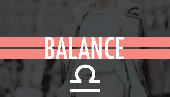 La sélection Balance