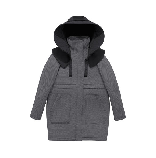 Parka Alexander Wang x H&M, 299 euros