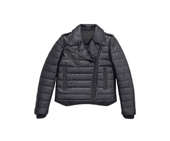 Blouson en cuir Alexander Wang x H&M, 299 euros