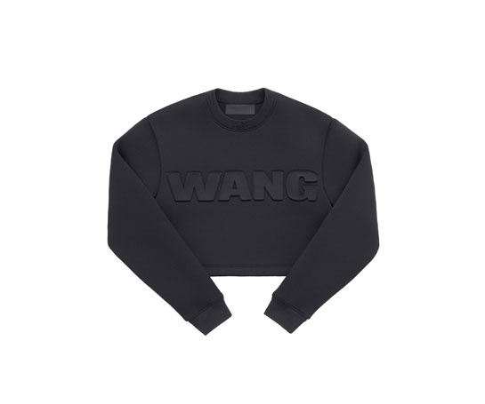 Sweat-shirt court Alexander Wang x H&M, 49,99 euros