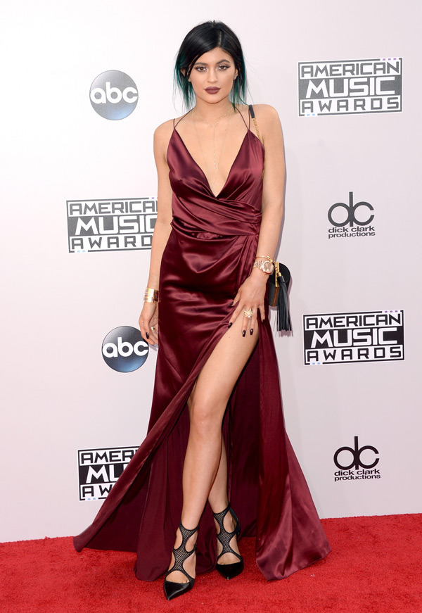 kylie jenner American music Awards 2014