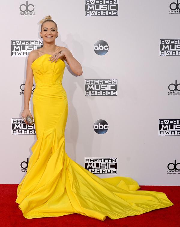 rita ora American music Awards 2014