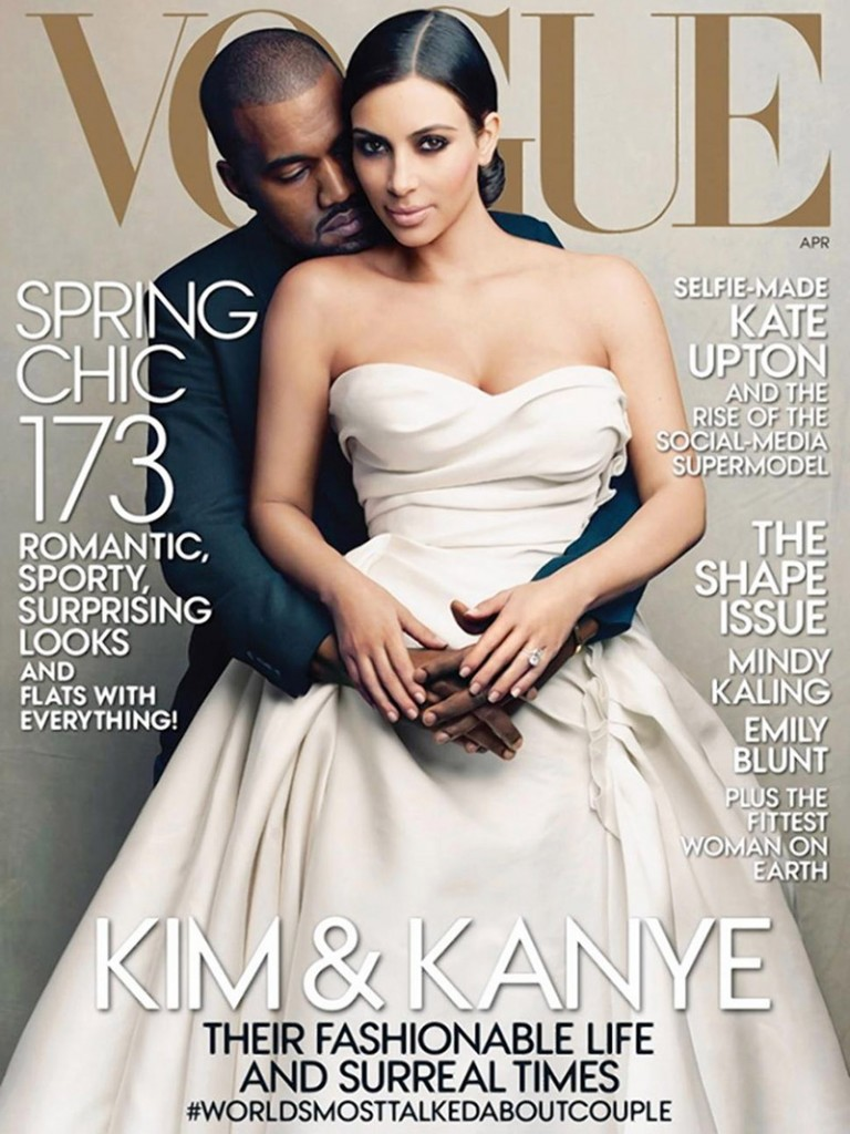 Vogue - Avril 2014 - Kim Kardashian  & Kanye West