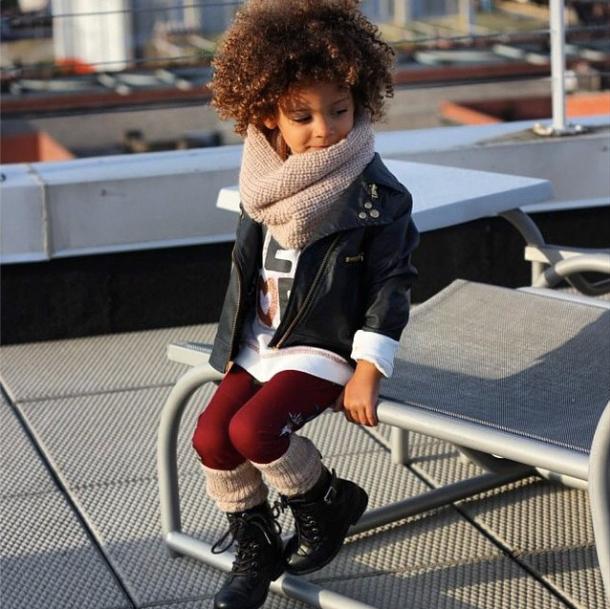 Les enfants fashion