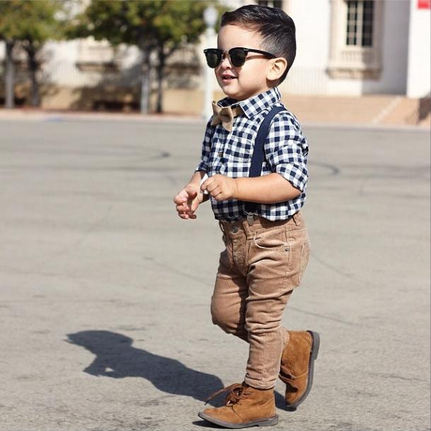 Les enfants fashion style