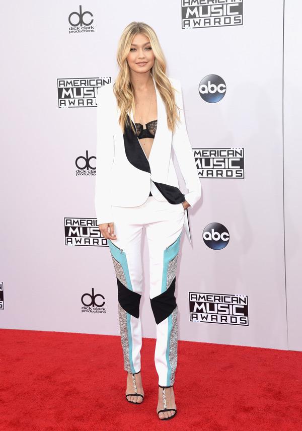 gigi hadid American music Awards 2014