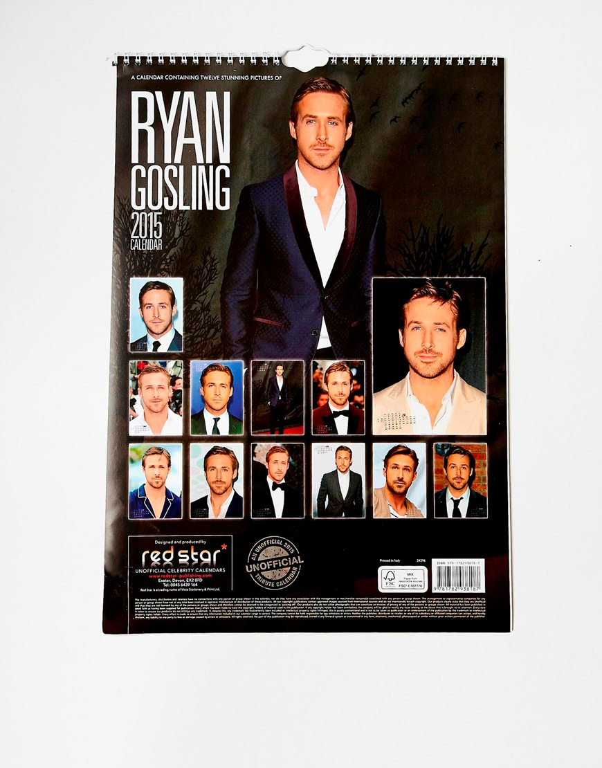 Calendrier Ryan Gosling - Asos