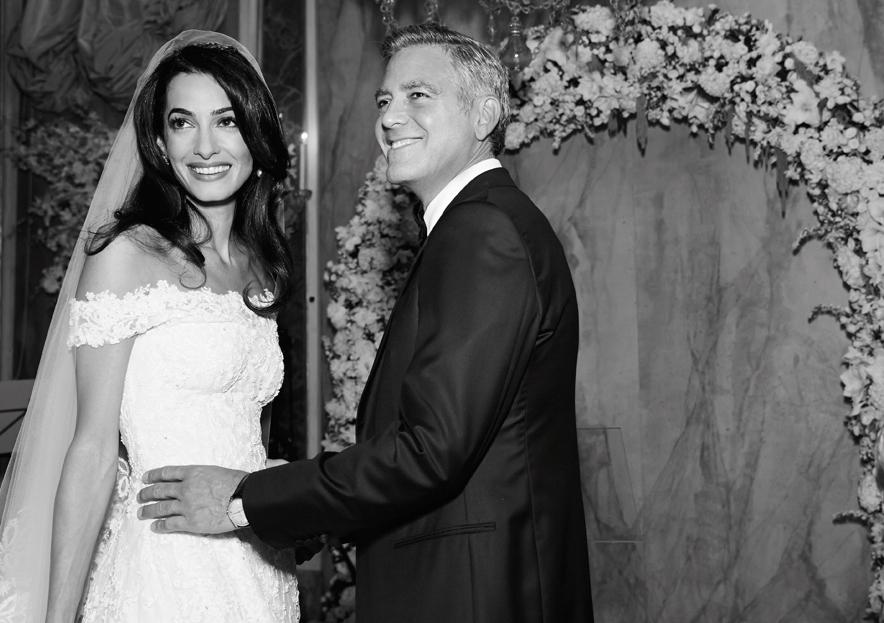 #Exclu : Les photos inédites du mariage de George Clooney et Amal Alamuddin