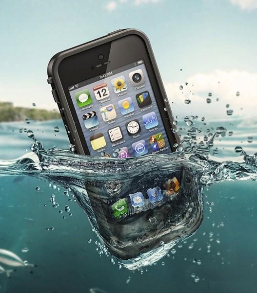 Coque étanche iPhone 5/5S