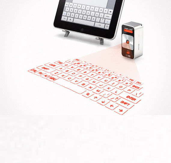 Clavier projection Laser