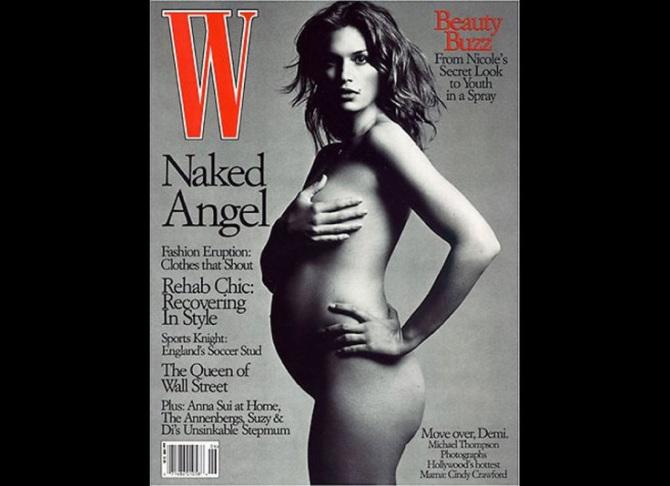Cindy Crawford nake