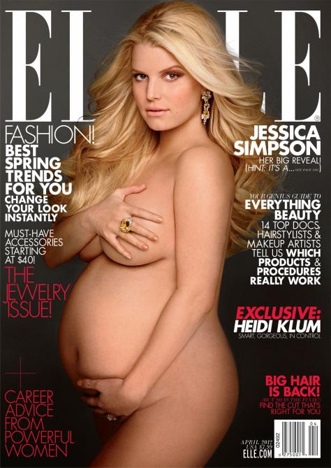 jessica simpson naked pregnant