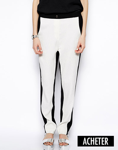 State of Being - Pantalon bicolore (30 €)