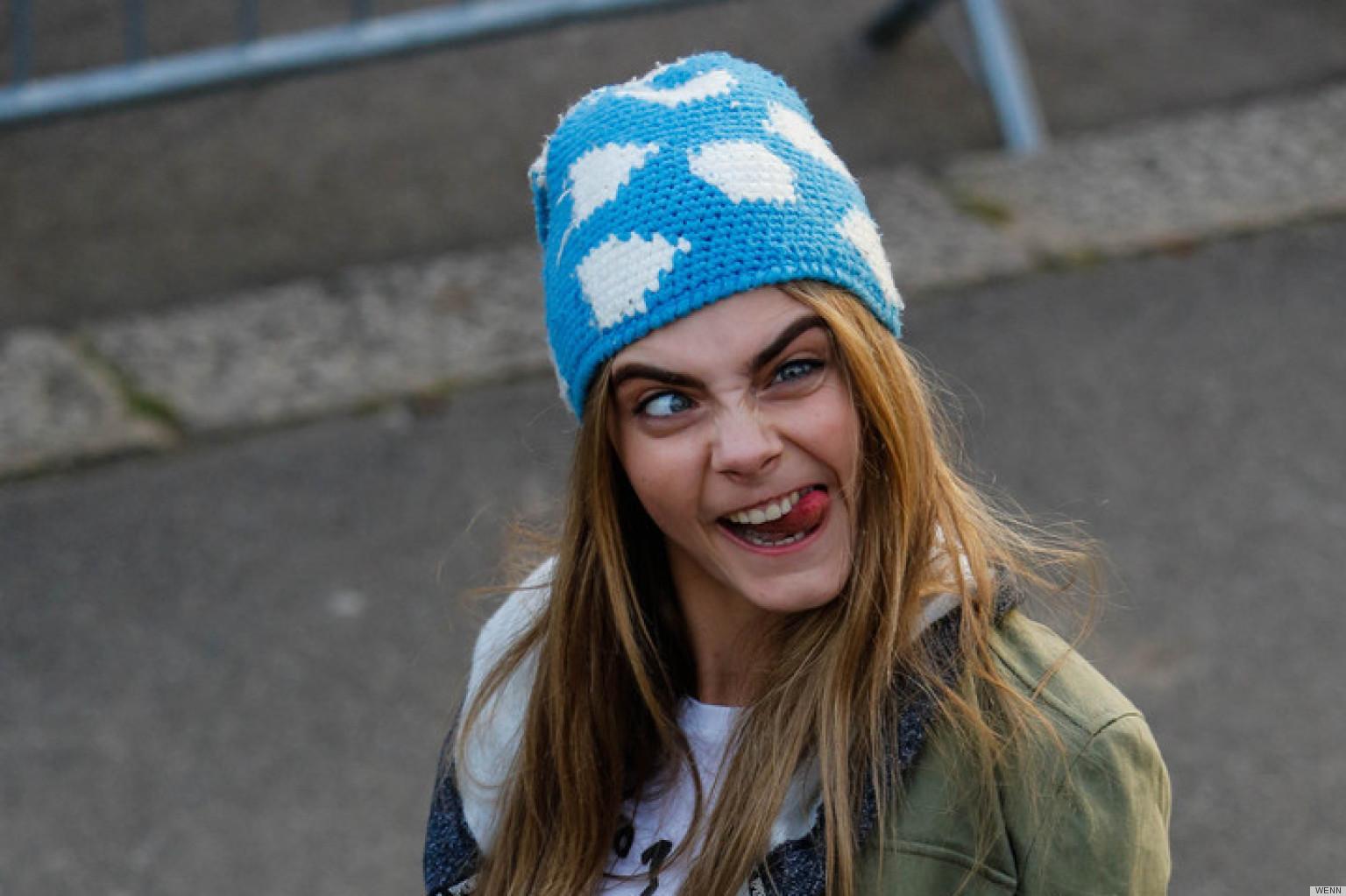 foto de Les plus incroyables grimaces de Cara Delevingne