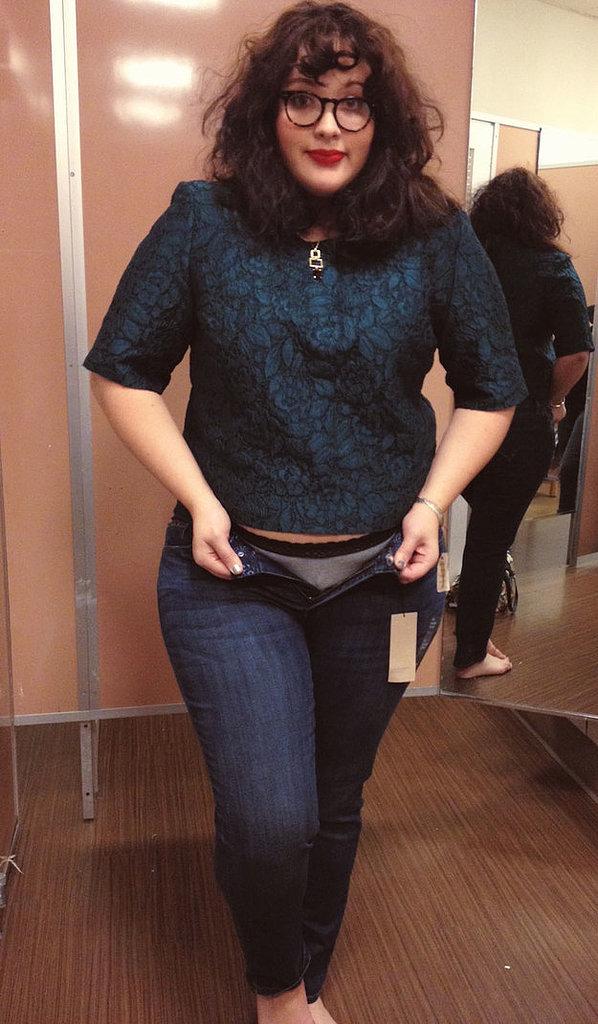 calvin klein plus size jeans