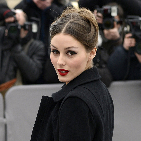 olivia palermo red lipstick les eclaireuses