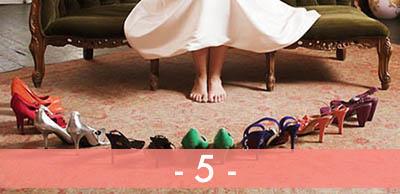 Symptômes d'une accro aux paires de chaussures