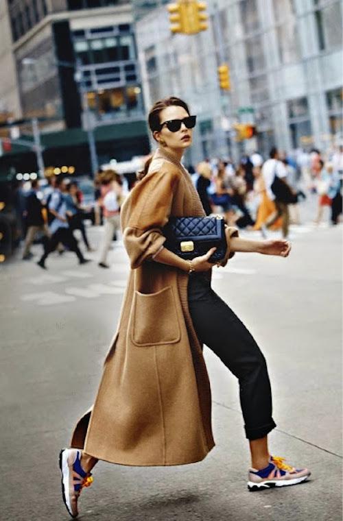 Street Style veste camel