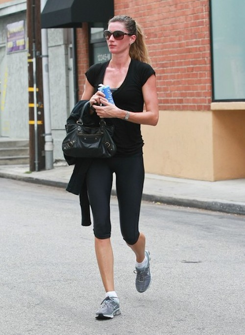 Gisele Bundchen gym look