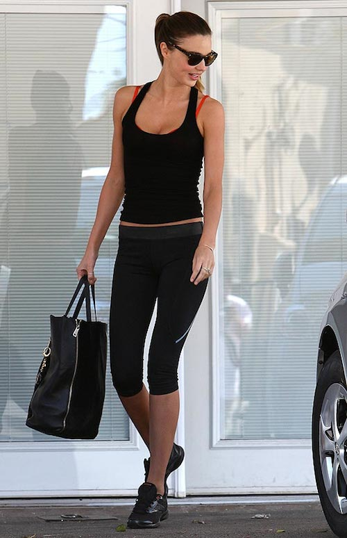 Miranda Kerr sport look
