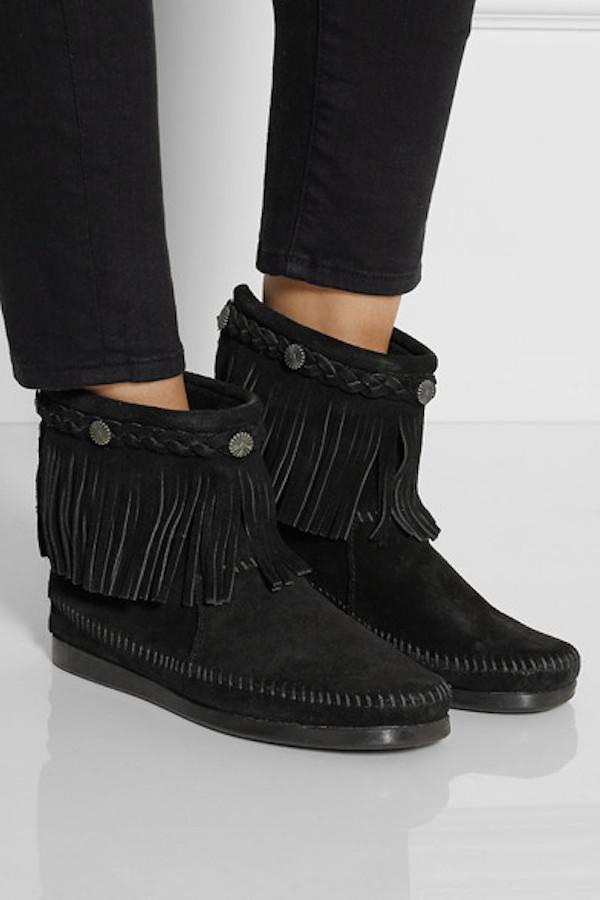 Finds + Minnetonka shoes