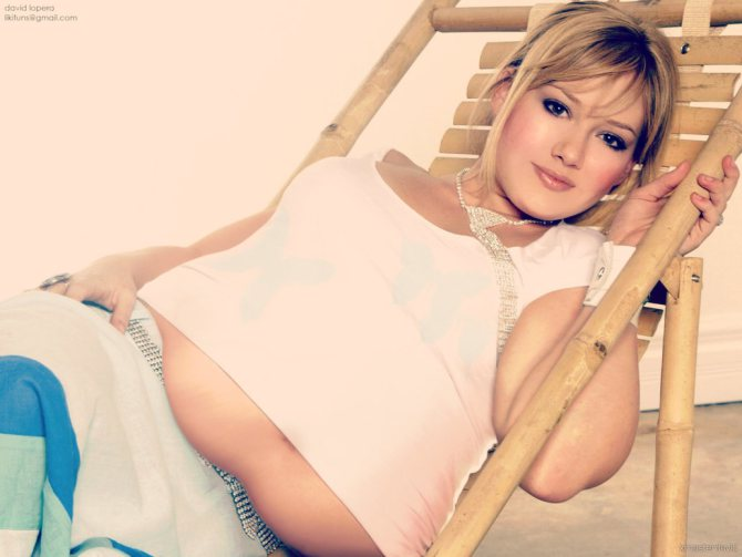 Hilary Duff fatter photoshop