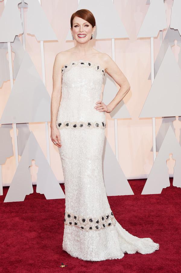 Julianne Moore in Chanel oscars 2015