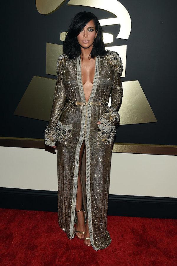 Kim Kardashian au grammy