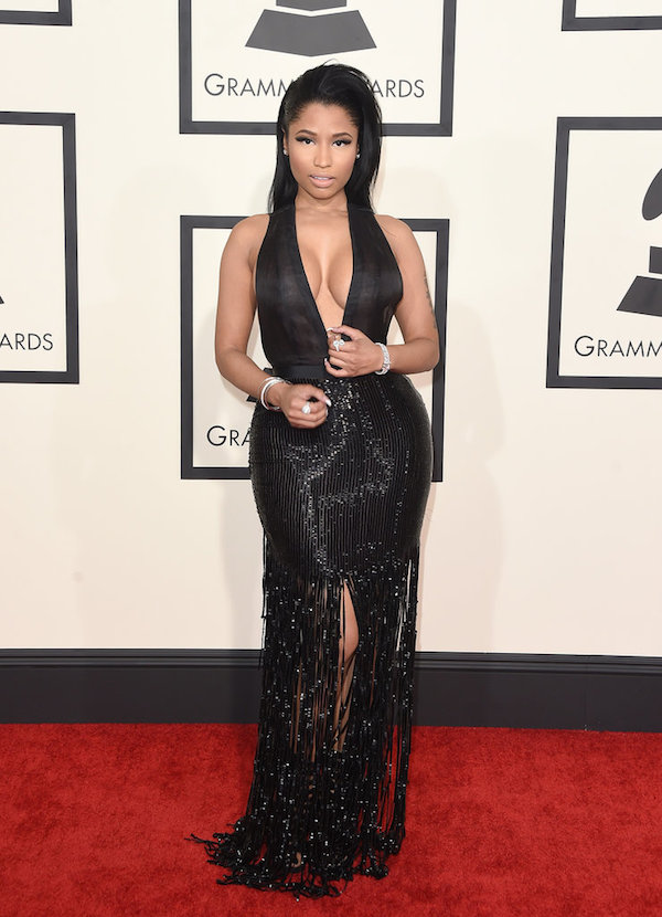 nicki minaj tom ford dress