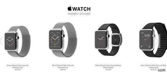 La montre Apple
