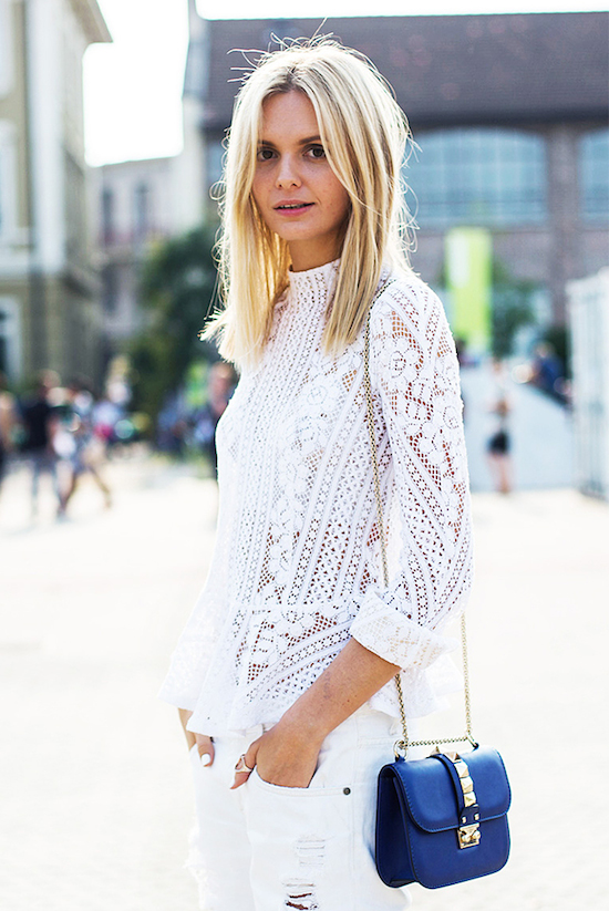 Inspiration Street Style top blanc