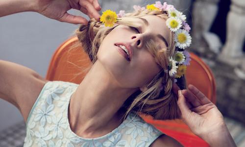 Inspiration fleurs La couronne de fleurs